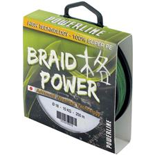 TRESSE POWERLINE BRAID POWER - VERT - 130M