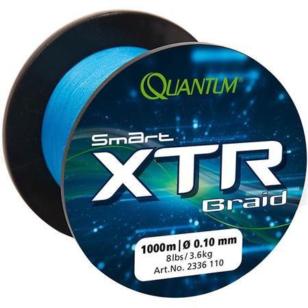 TRESSE QUANTUM SMART XTR BLEU - 1000M