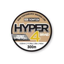 Lines Ron Thompson HYPER 4 BRAID JAUNE 300M 38/100