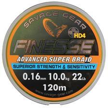 Lines Savage Gear FINEZZE HD4 BRAID JAUNE 2500 A 4000M 3000M 33/100