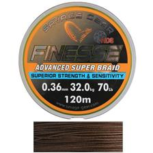 TRESSE SAVAGE GEAR FINEZZE HD8 BRAID - 120M