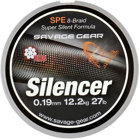 TRESSE SAVAGE GEAR HD8 SILENCER BRAID - 120M