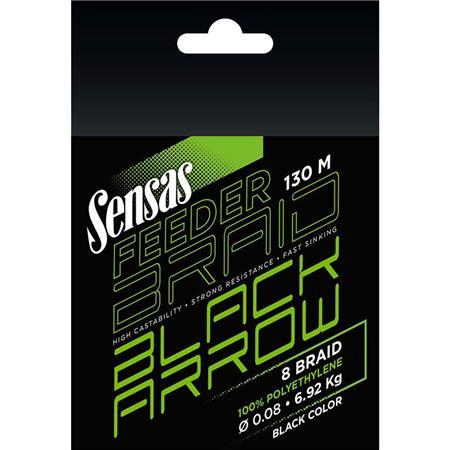 TRESSE SENSAS BLACK ARROW BRAID - 130M