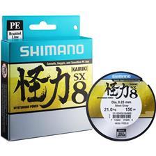 TRESSE SHIMANO KAIRIKI - GRIS - 300M