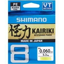 Lines Shimano KAIRIKI SX8 JAUNE 300M SH64WY30019