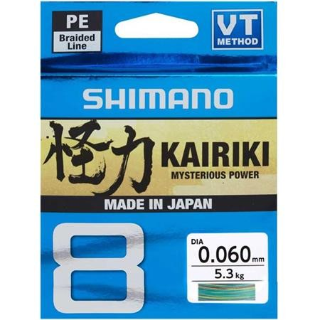 TRESSE SHIMANO KAIRIKI SX8 MULTI - 300M