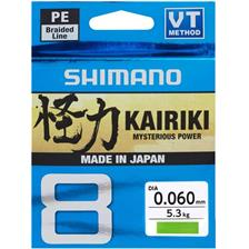 TRESSE SHIMANO KAIRIKI SX8 VERT - 300M