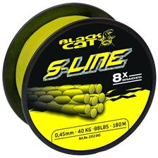 TRESSE SILURE BLACK CAT S-LINE - JAUNE