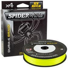 Lines Spiderwire DURA 4 JAUNE 150M 10/100