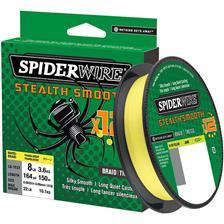 Lignes Spiderwire STEALTH SMOOTH 12 BRAID 150M JAUNE 23/100