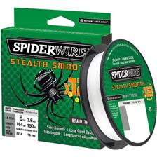 Lines Spiderwire STEALTH SMOOTH 12 BRAID 150M TRANSLUCENT 7/100