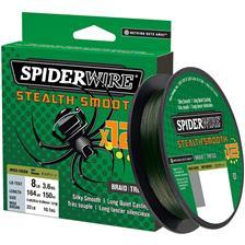 TRESSE SPIDERWIRE STEALTH SMOOTH 12 BRAID - 2000M - MOSS GREEN