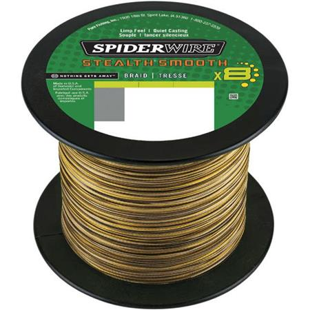 TRESSE SPIDERWIRE STEALTH SMOOTH 8 CAMO - 1800M