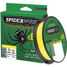TRESSE SPIDERWIRE STEALTH SMOOTH 8 - JAUNE - 150M