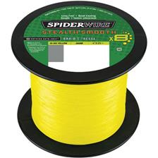 TRESSE SPIDERWIRE STEALTH SMOOTH 8 - JAUNE - 2000M - 33/100