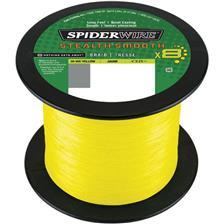TRESSE SPIDERWIRE STEALTH SMOOTH 8 MOSS - JAUNE - 1800M
