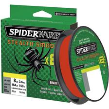 TRESSE SPIDERWIRE STEALTH SMOOTH 8 MOSS - ROUGE - 150M