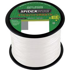 TRESSE SPIDERWIRE STEALTH SMOOTH 8 MOSS - TRANSLUCIDE - 3000M