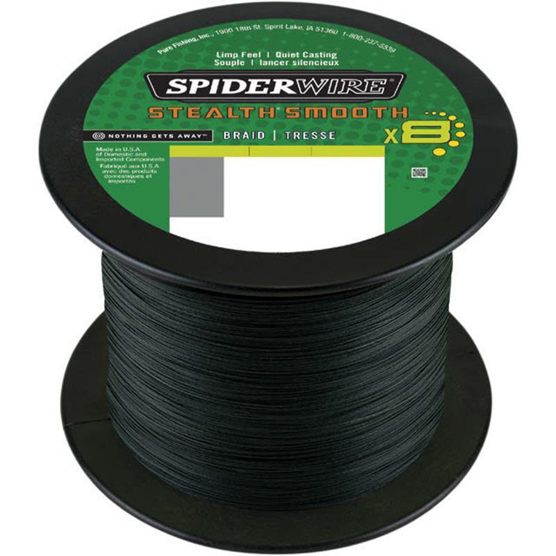 Vert Vert Spiderwire Tresse Stealth Smooth 8 Moss 1800 20 1800M 20//100