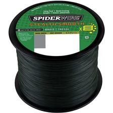 TRESSE SPIDERWIRE STEALTH SMOOTH 8 MOSS - VERT - 3000M