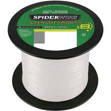 TRESSE SPIDERWIRE STEALTH SMOOTH 8 - TRANSLUCIDE - 1800M