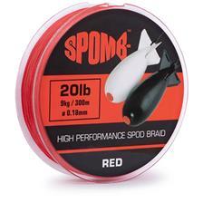 Lignes Spomb BRAID RED 300M 18/100