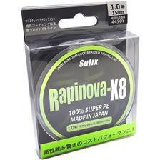 Lines Sufix RAPINOVA X8 STEEL GREY 150M 18.5/100