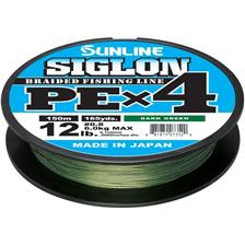 Lines Sunline SIGLON BRAID PE 4X VERT FONCE 300M 20.9/100