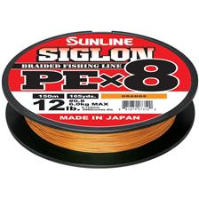 TRESSE SUNLINE SIGLON BRAID PE 8X ORANGE - 150M