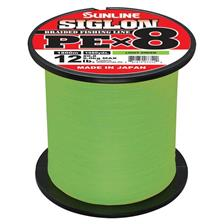 Lignes Sunline SIGLON BRAID PE 8X VERT CLAIR 600M 27/100 - 29.6/100MM