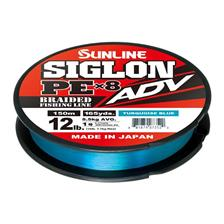 Lignes Sunline SIGLON BRAID PE ADV 8X BLEU TURQUOISE 150M 18.7/100