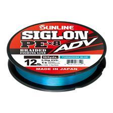 Lignes Sunline SIGLON BRAID PE ADV 8X BLEU TURQUOISE 300M 24.2/100