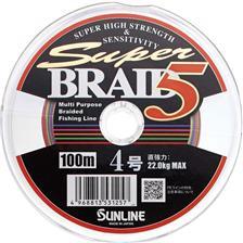 SUPER BRAID 5 4 BRINS MULTICOLOR 100M 16.5/100