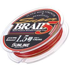 SUPER BRAID 5 4 BRINS MULTICOLOR 150M 20.5/100