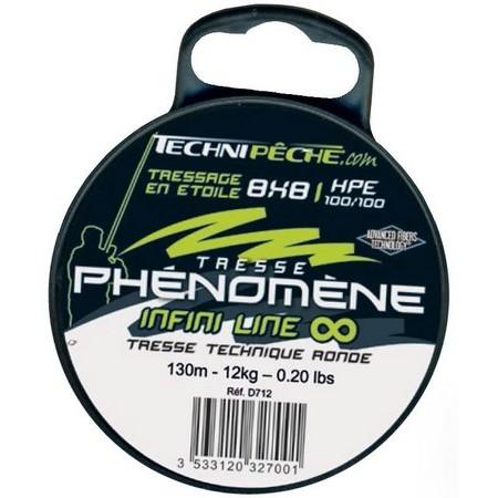 TRESSE TECHNIPÊCHE PHENOMENE INFINI LINE 8 BRINS - 130M