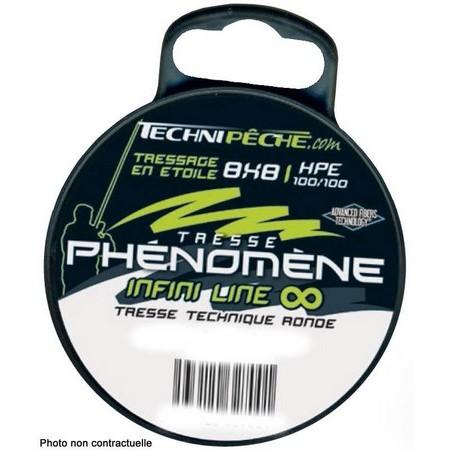 TRESSE TECHNIPÊCHE PHENOMENE INFINI LINE 8 BRINS - 250M