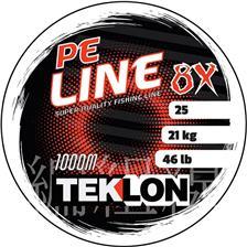 TRESSE TEKLON PE 8X LINE - GRIS - 1000M