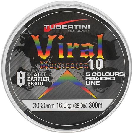 TRESSE TUBERTINI VIRAL 10 MULTICOLORE - 300M