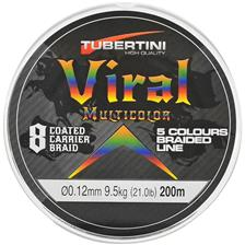 TRESSE TUBERTINI VIRAL 8 MULTICOLORE - 200M