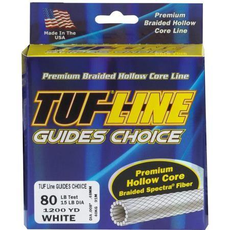TRESSE TUF LINE GUIDES CHOICE BLANC - 274M