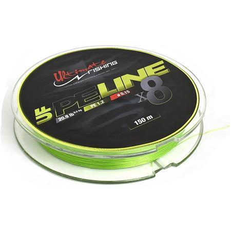 TRESSE ULTIMATE FISHING UF PE LINE X8 - 150M