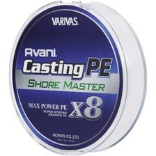 TRESSE VARIVAS AVANI CASTING SHORE MASTER X8 - 200M