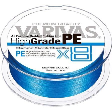 TRESSE VARIVAS HIGHGRADE PE X8 - BLEU