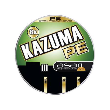 TRESSE VERCELLI KAZUMA 8X PE - 100M