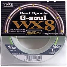 Lines YGK WX8 REAL SPORTS G SOUL 18.5/100