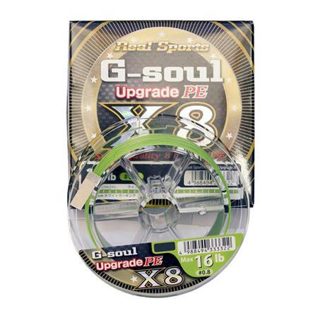 TRESSE YGK X8 R SP G SOUL UPGRADE D611 - 200M