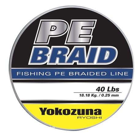 TRESSE YOKOZUNA PE BRAID GRIS - 100M