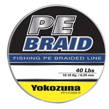 Lignes Yokozuna PE BRAID GRIS 300M 20/100