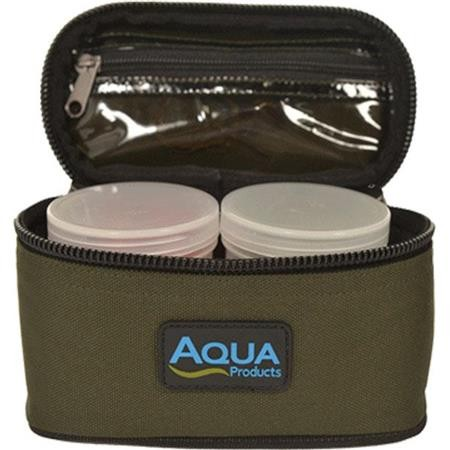 TROUSSE A ESCHES AQUA PRODUCTS BLACK SERIES ROVING 2 POT GLUG BAG