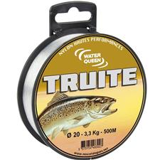 TROUT MONOFILAMENT WATER QUEEN TRUITE - 500M